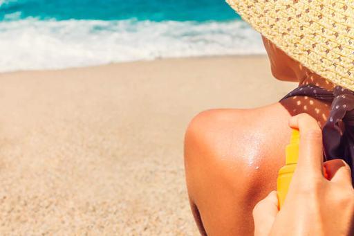 Protección solar para la playa
