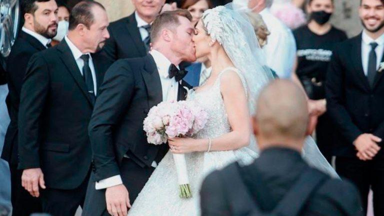 Beso-boda-Canelo-y-Fernanda