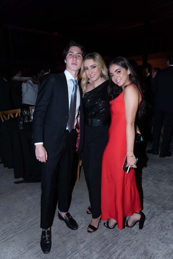 William Karam, Regina Vázquez y Alexia Castro