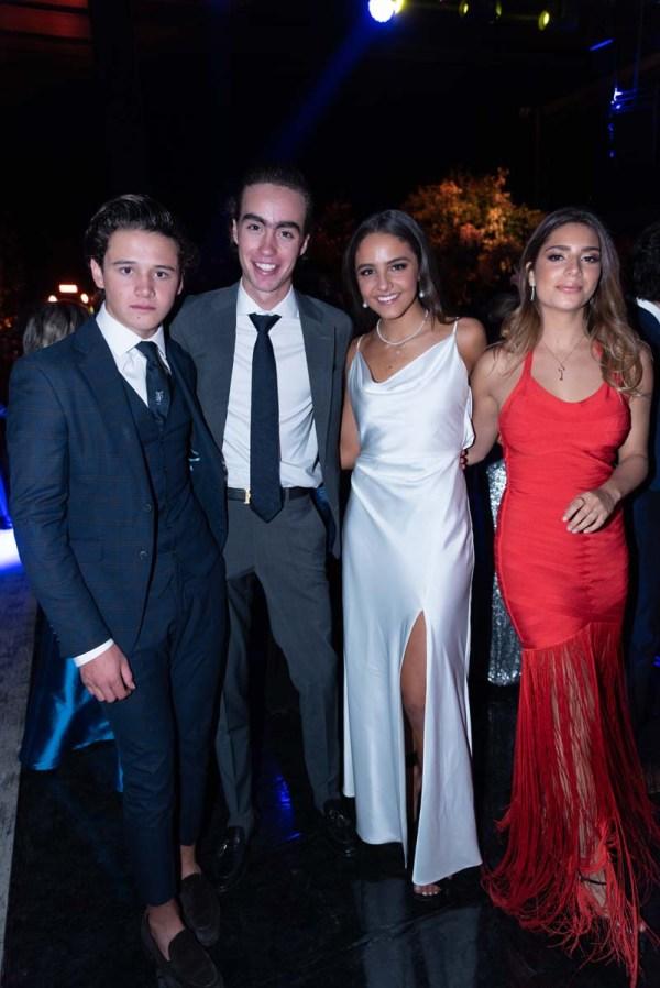 José Pablo, José Torrado, Mariana Compeán, Javiera Rivas