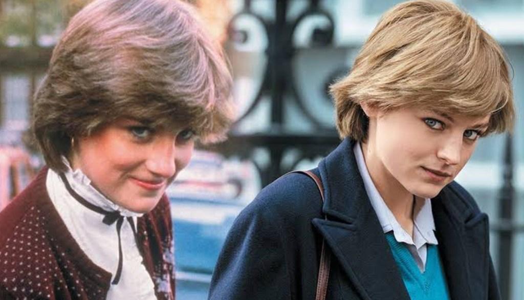 Princesa Diana y Emma Corin