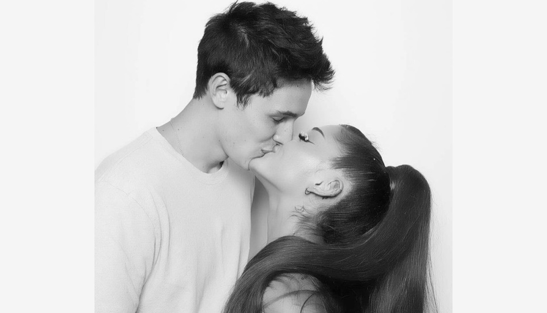 Dalton Gomez y Ariana Grande