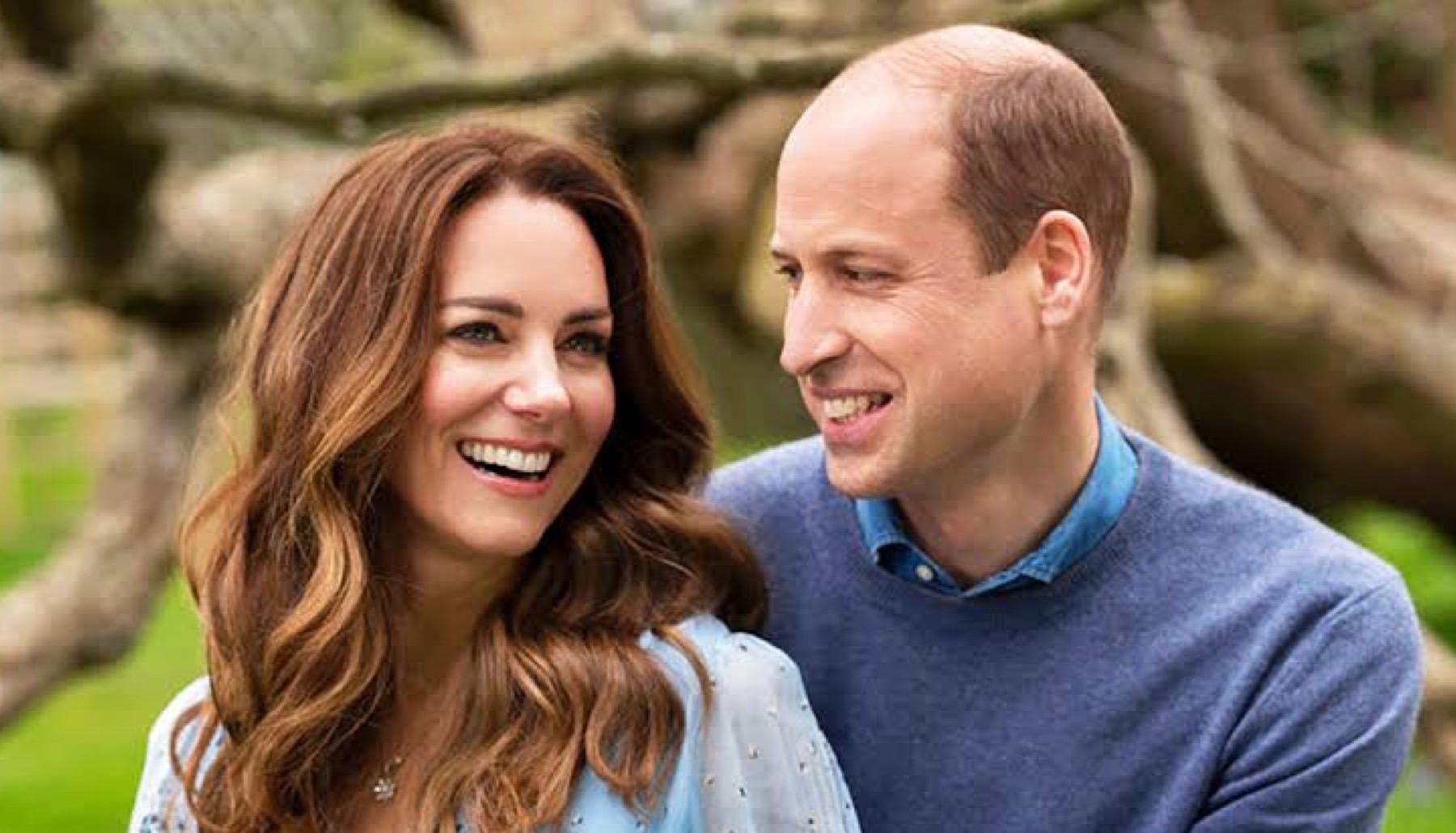 Los Duques de Cambridge William y Kate