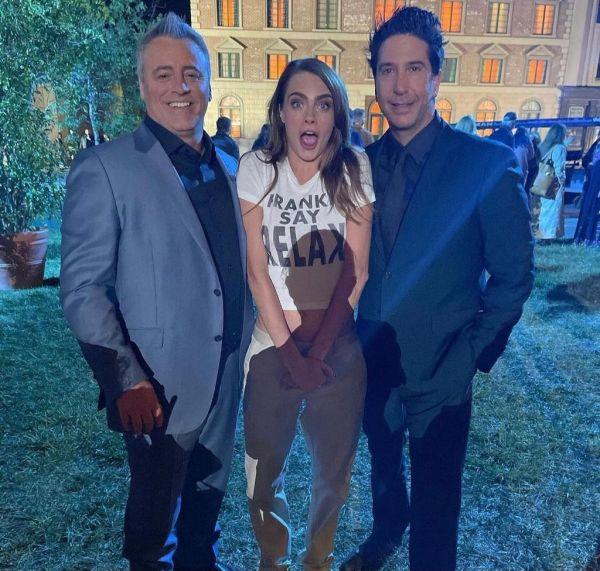 Matt, Cara y David