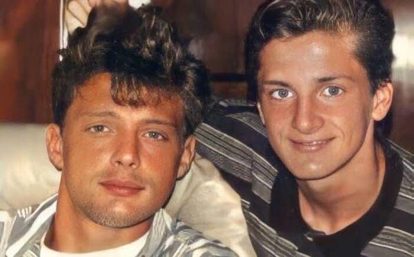 Luis Miguel y Alex Basteri