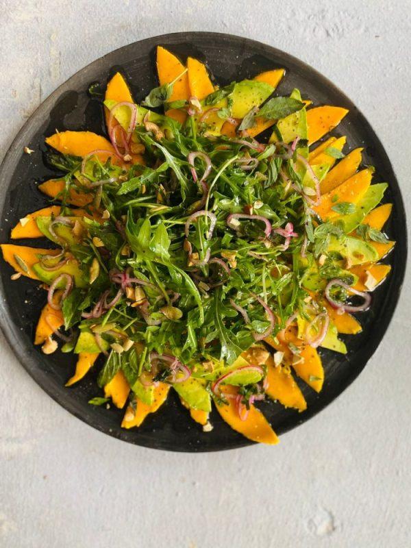 Carpaccio de mango, receta por Mesa Sana