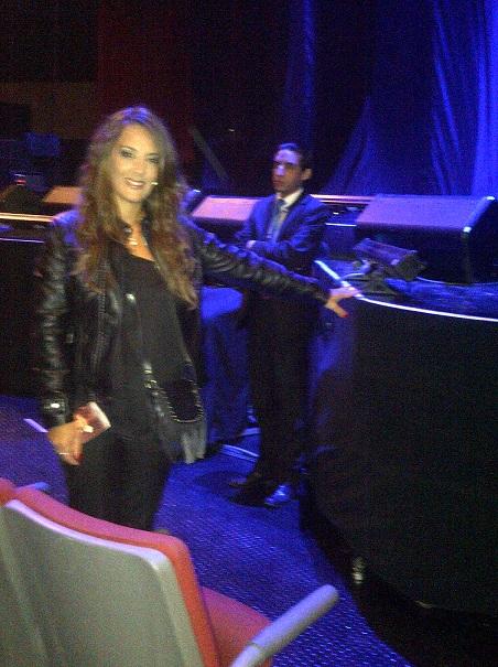 Eugenia en el Auditorio Nacional