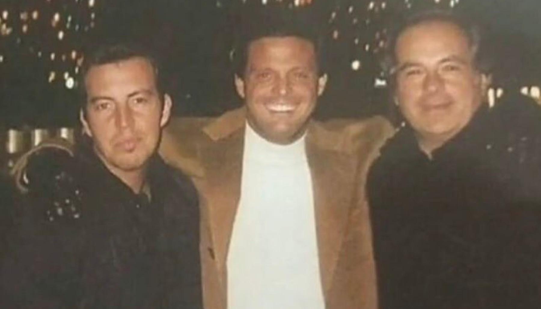 Alejandro Asensi con Luis Miguel