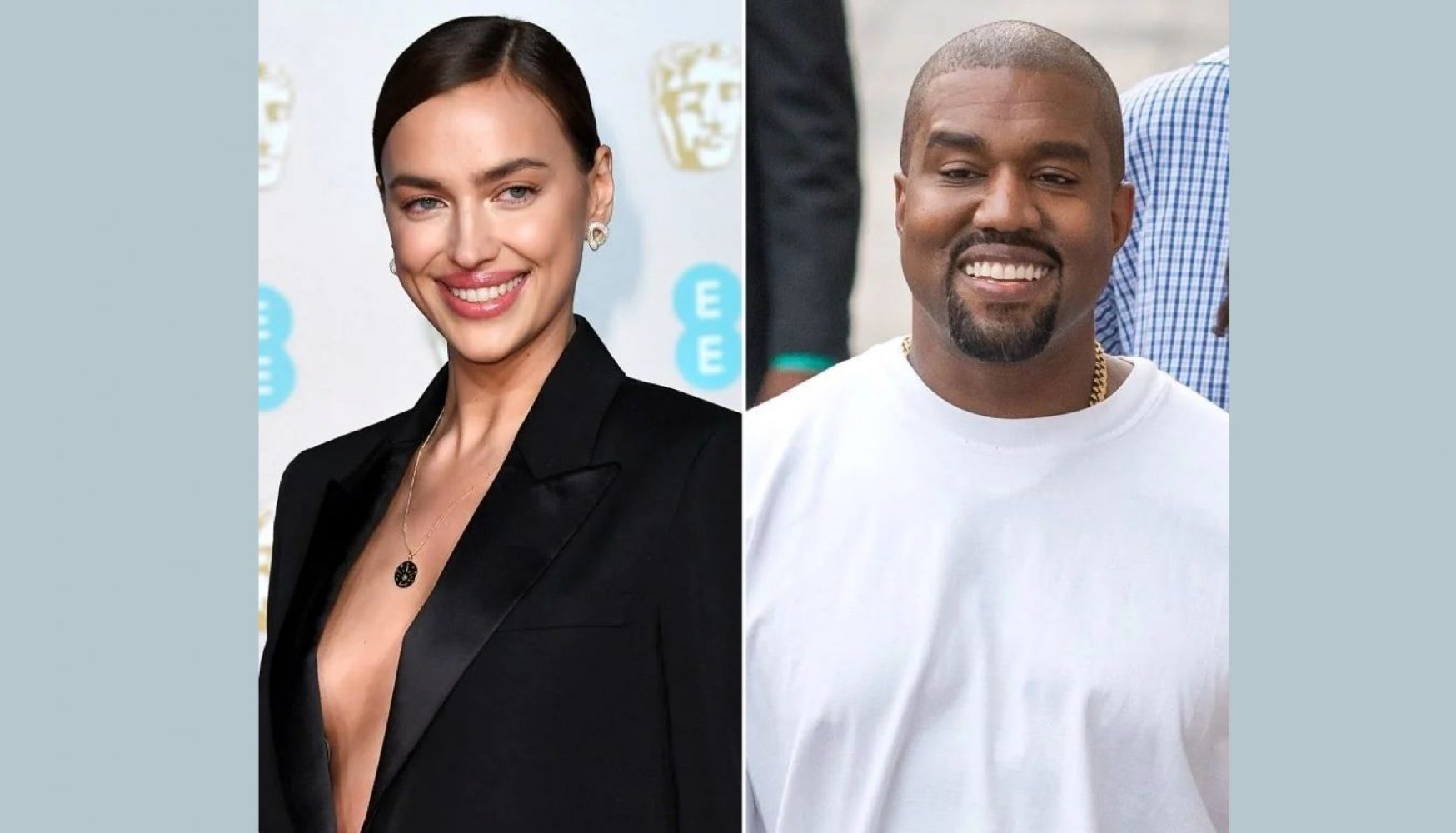 Irina Shayk y Kanye West