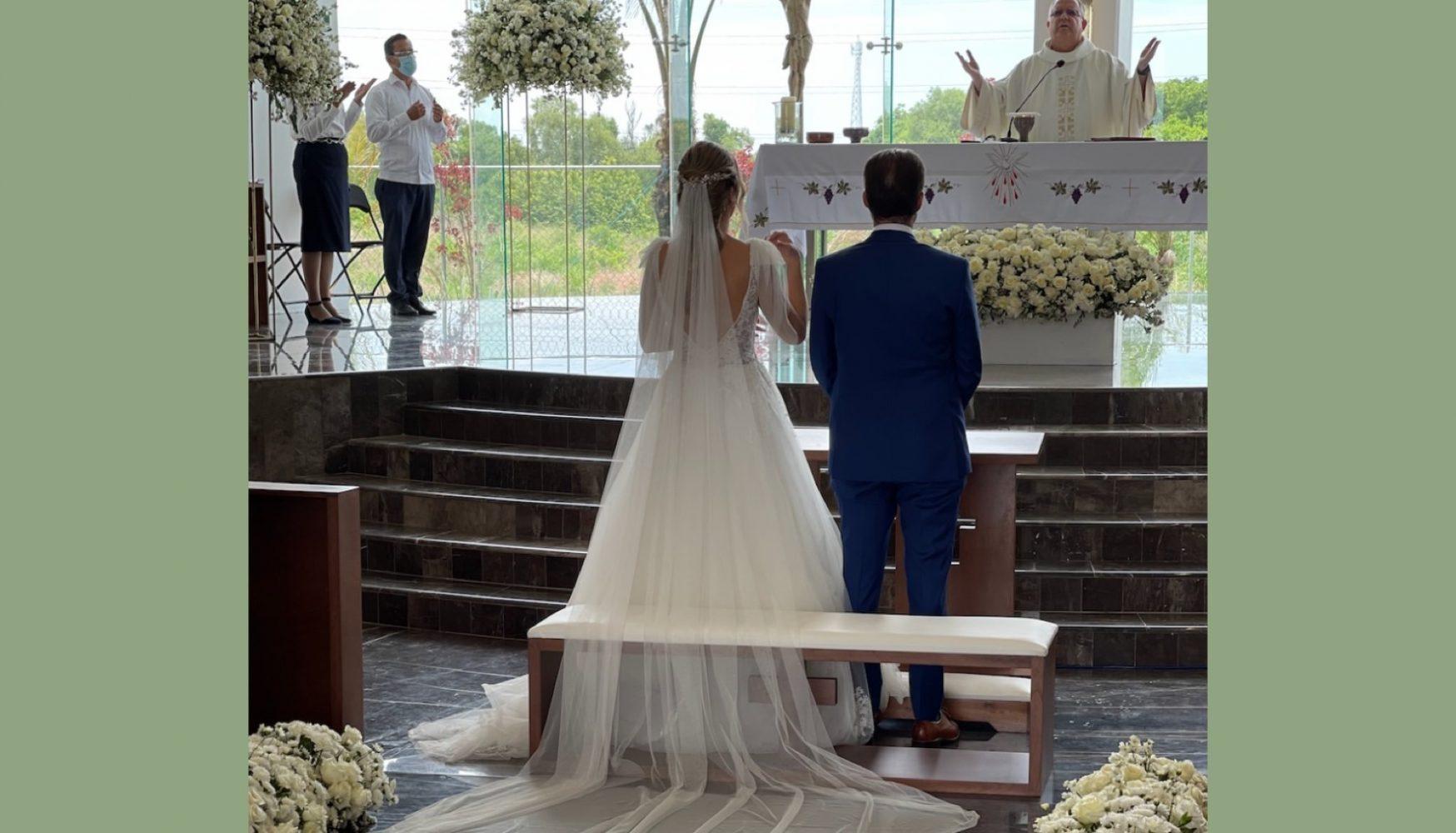 Paola Sierra y Andrés Gabriel