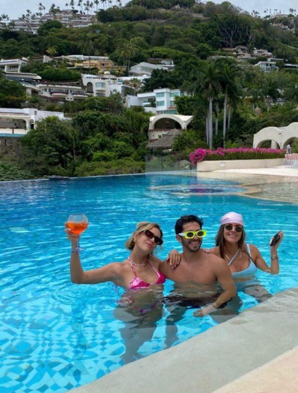 festejo en Acapulco