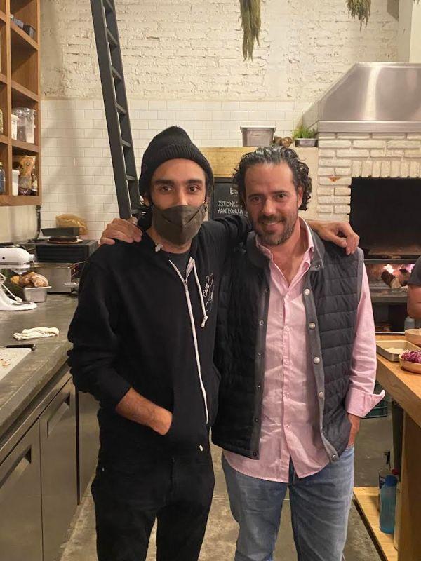 Chef y Huey Tlacualli