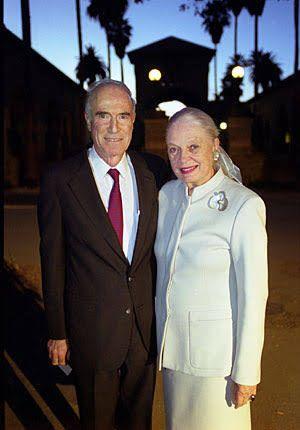 Peter Bing con su esposa