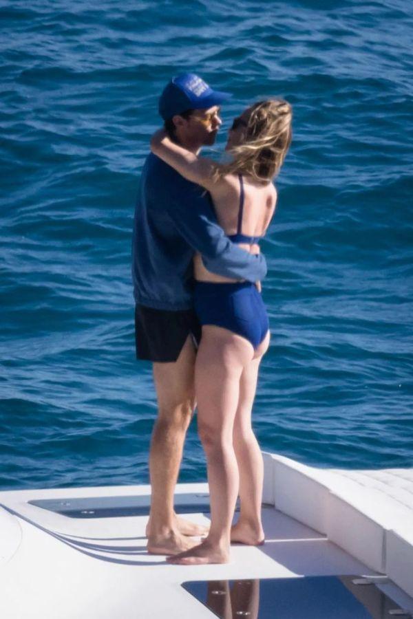 Harry Styles y Olivia Wilde en Italia. Foto: Page Six
