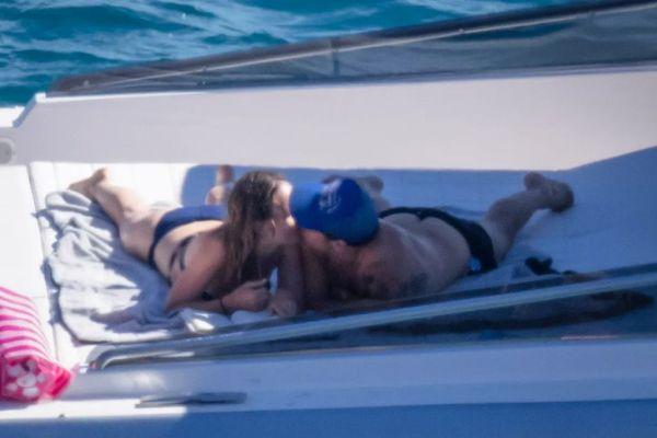 Harry Styles y Olivia Wilde en Italia
