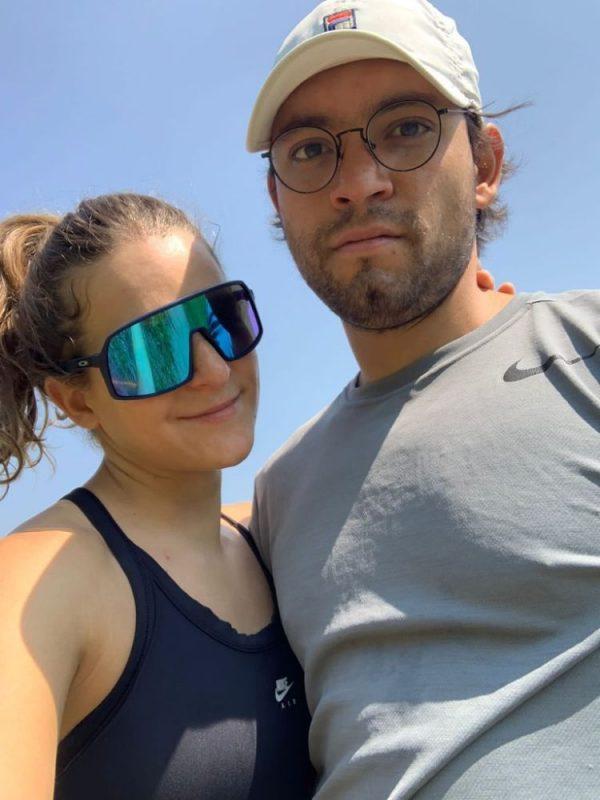Alexa Ersham y Juan Carreon