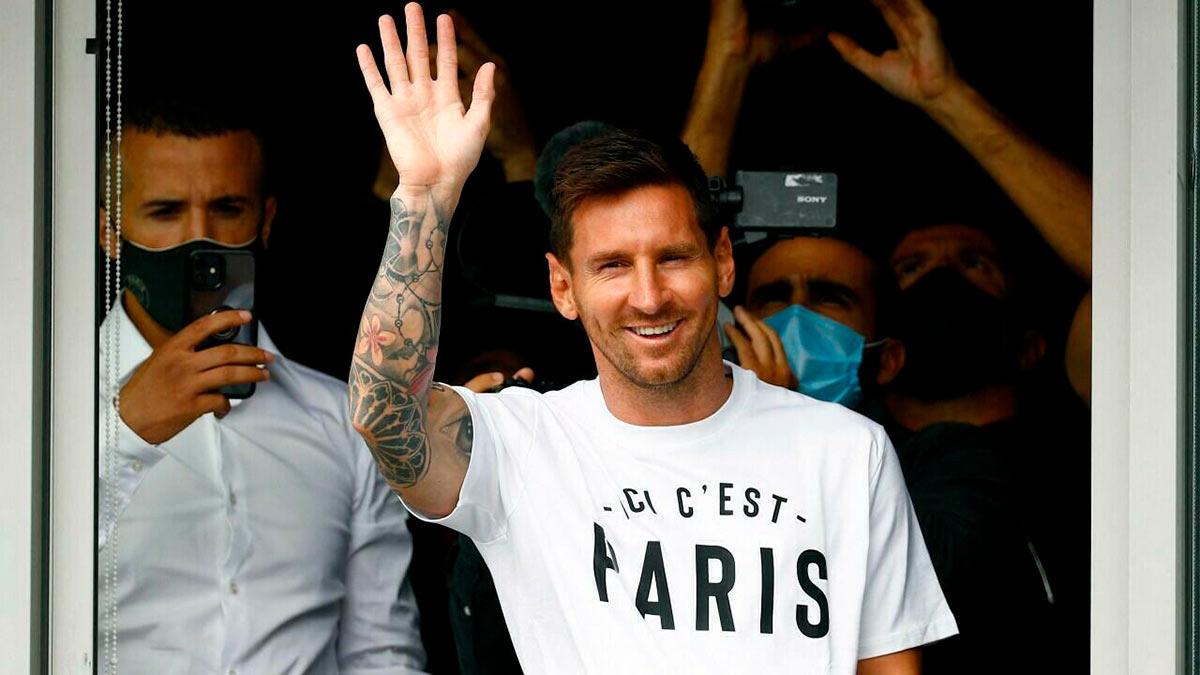 Messi-Paris