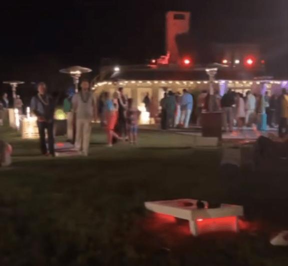 La fiesta de Barack Obama contó con cientos de invitados