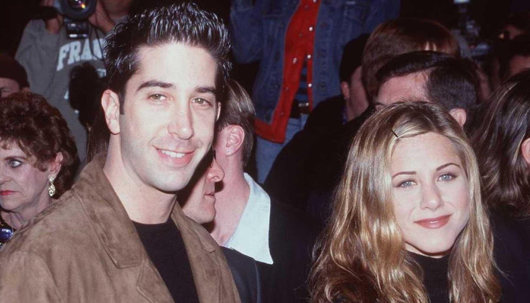 Jennifer Aniston y Davis Schwimmer, ¿salen o son solo amigos?