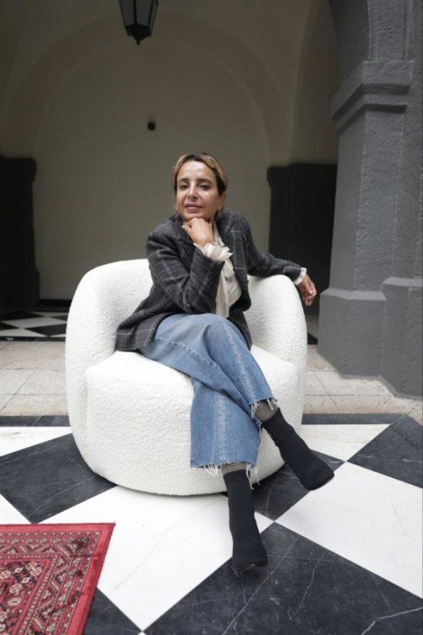 Luis Serna en el Shooting editorial de Solferino Home