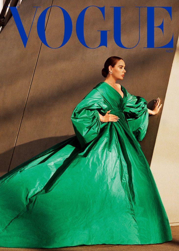 Adele protagoniza la portada de Vogue octubre