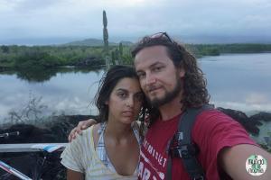 Foto de Gaby y Peter elmundoenlamochila.com