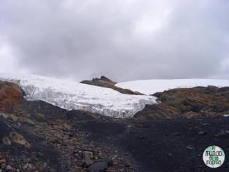 Glaciar Pastoruri en 2007