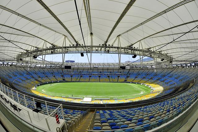Foto del estadio maracana de Luciano Silva