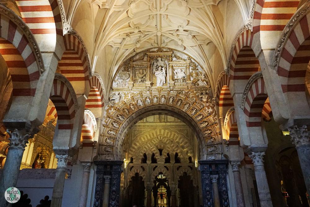 Nave de la Catedral de Córdoba