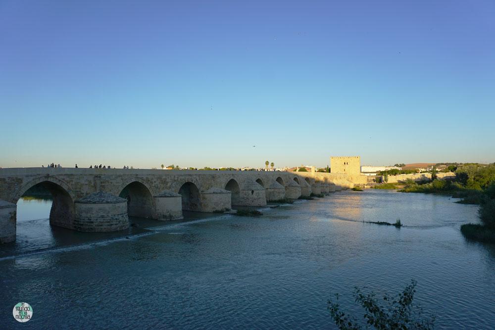 Puente romano sobre el Guadalquivir en Córdoba