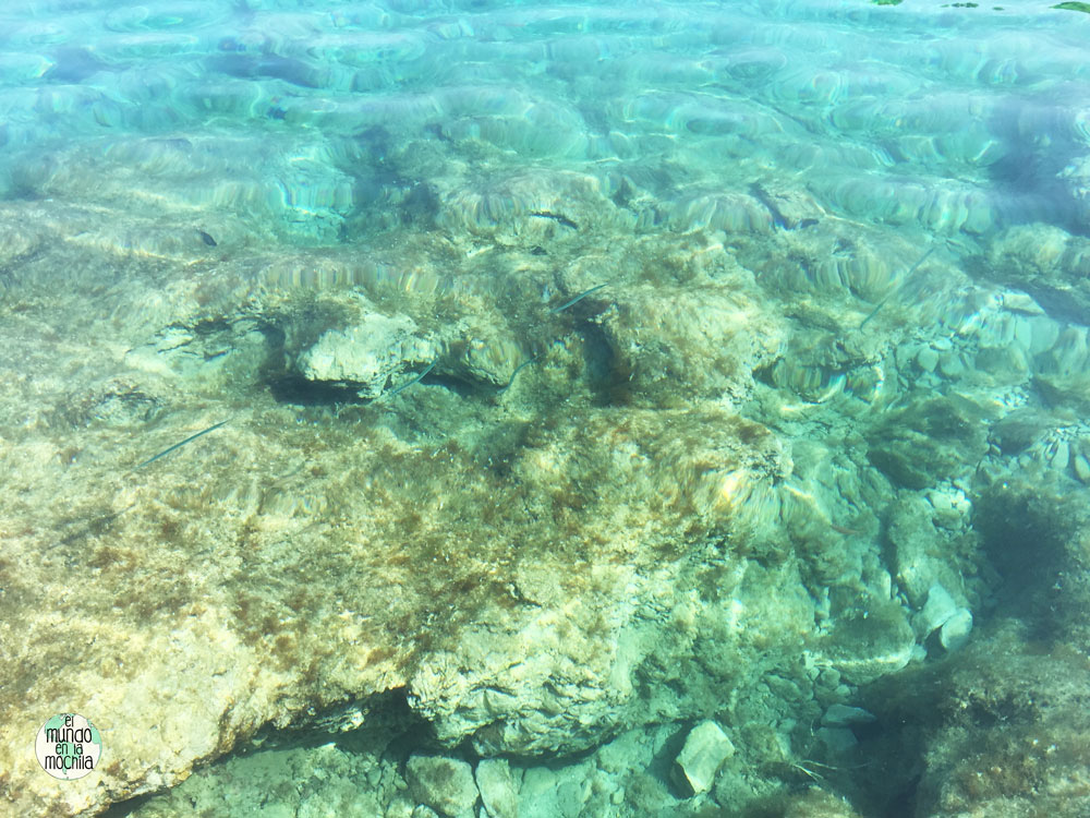 La transparencia de las aguas de Hvar