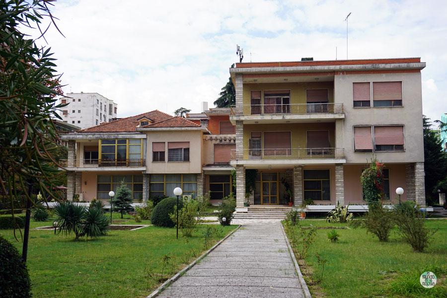 Casa de Enver Hoxha en Tirana, Albania