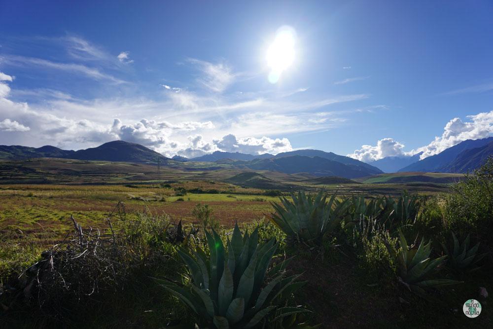 Paisaje del Valle Sagrado, Períu - Los 10 mejores destinos mochileros de Sudamérica