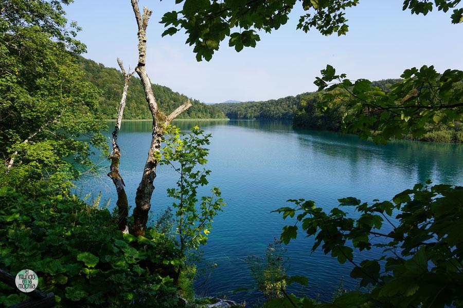 Paisaje del Parque Nacional Plitvice