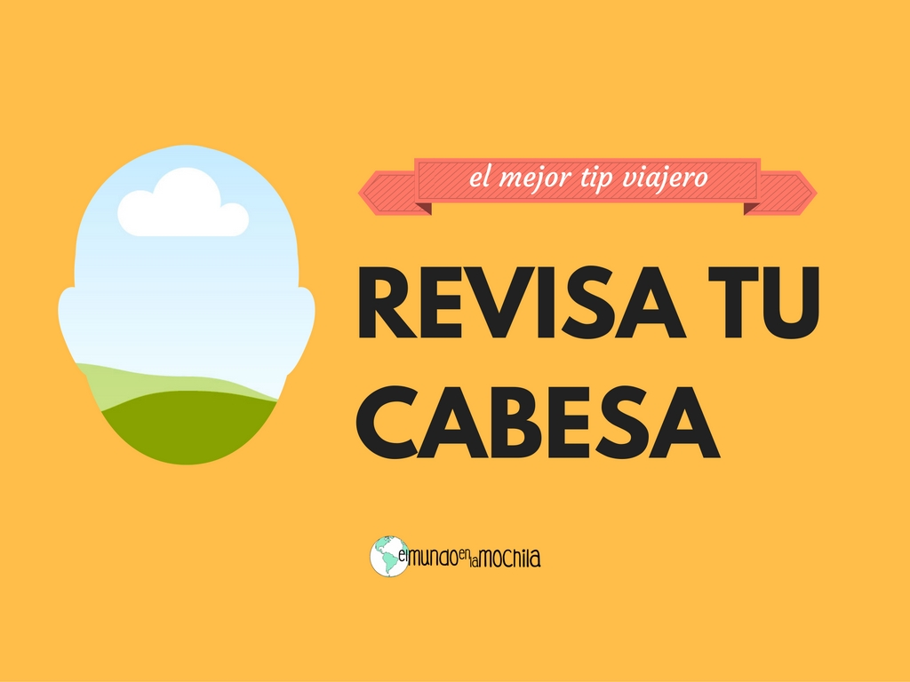 EL MEJOR TIP VIAJERO - Revisa tu CABESA