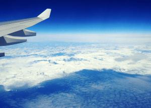 Hermosas Vistas desde un avión