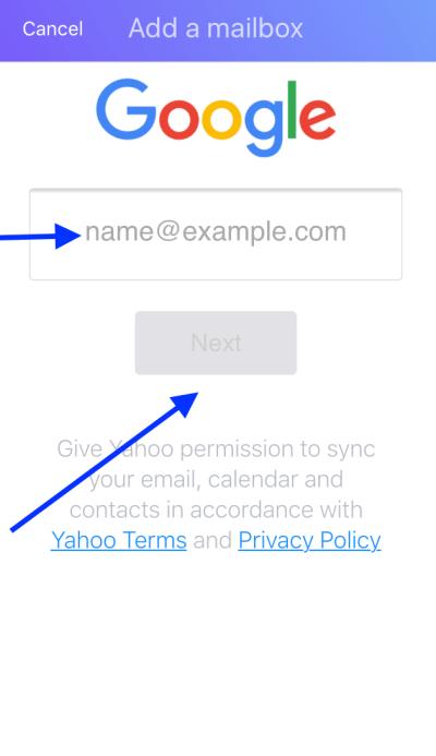 Paso3-Gmail en Yahoo Mail