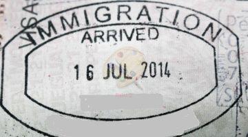 Trivial ¿Cuánto sabes sobre los sellos en los pasaportes?