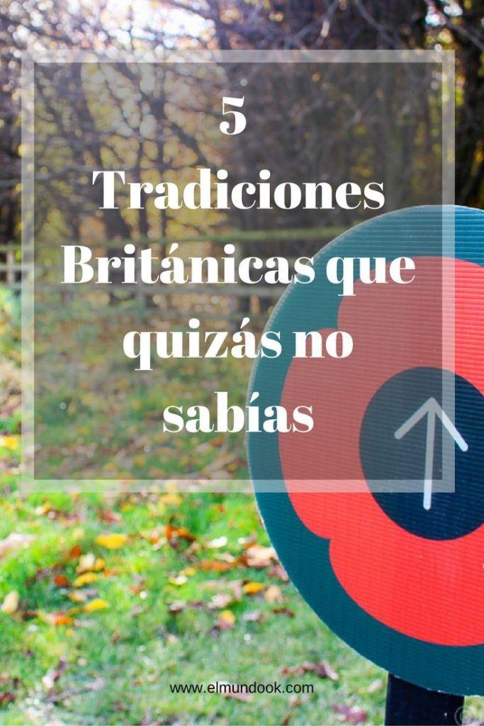 5 Tradiciones Británicas que quizás no sabías
