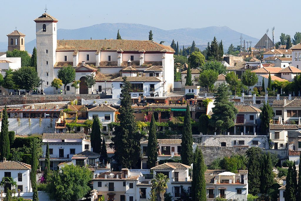 Vista de Granada desde la Alhambra.