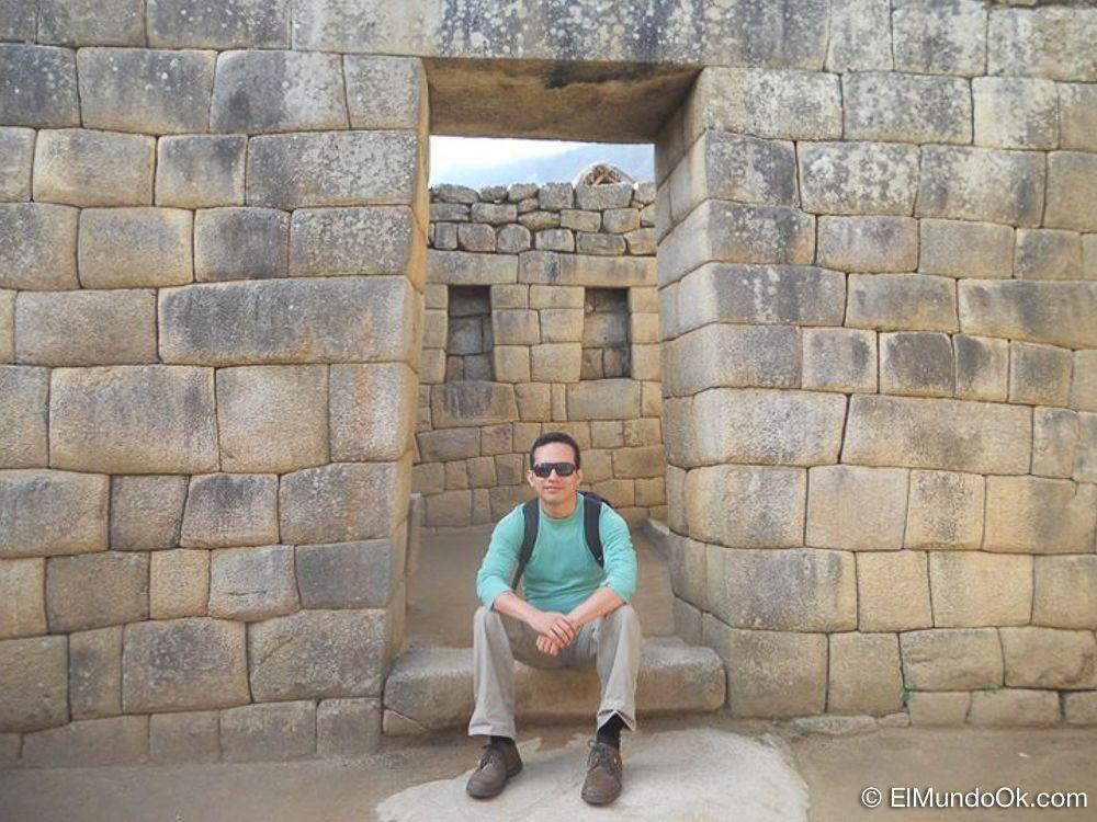 Mi Primera vez en Machu Picchu. Bo Saldaña.