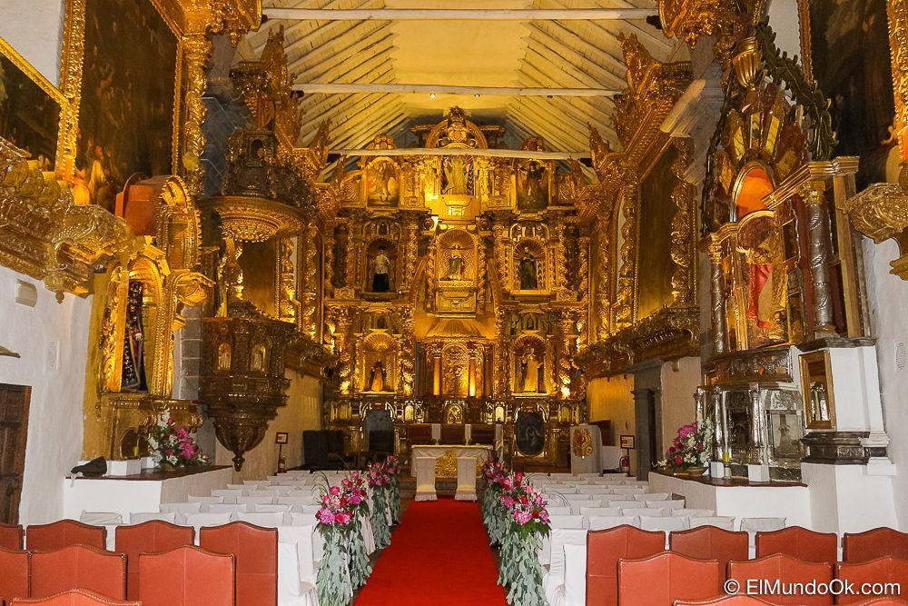 Capilla del Hotel Monasterio en Cusco.
