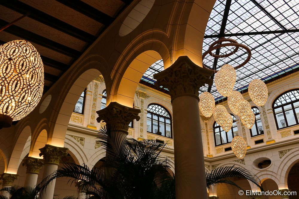 Detalles en el Lobby Real. Gran Hotel Miramar.