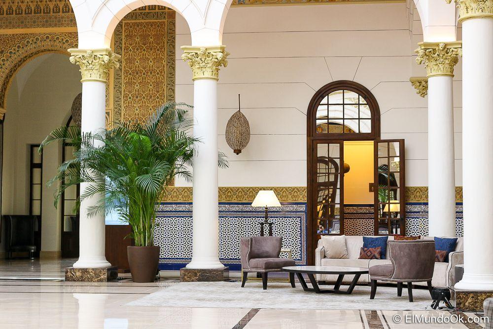 El Lobby Real. Gran Hotel Miramar.