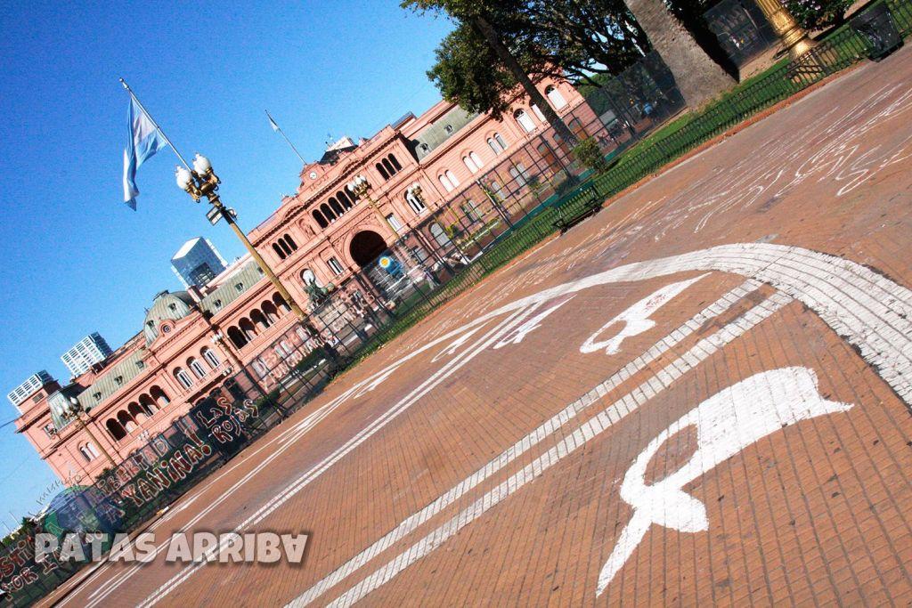 Plaza de Mayo y la Casa Rosada