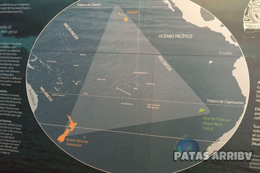 El triángulo de Polinesia