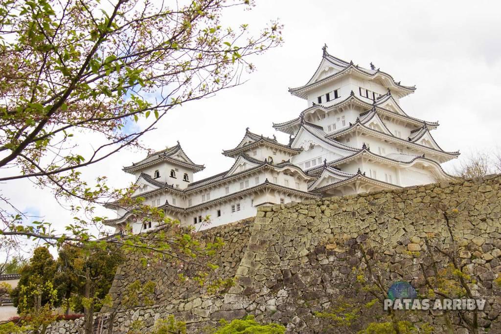 El Castillo de Himeji además de ser arquitectónicamente precioso tenía una función defensiva