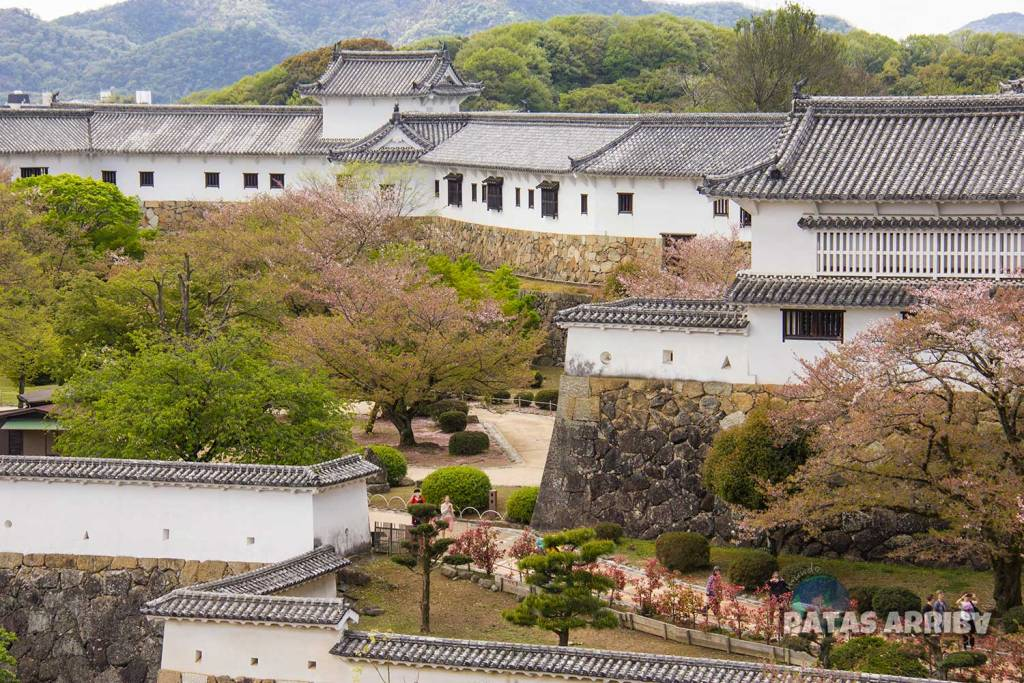 Torre de los Cosméticos en el castillo de Himeji
