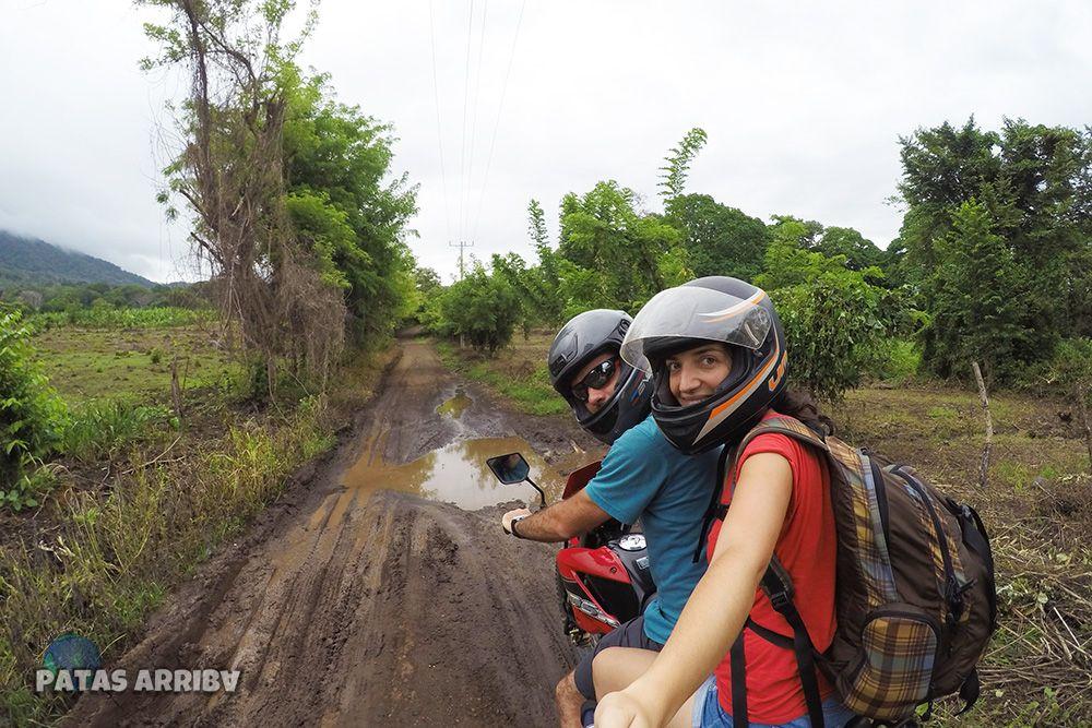 Moto Camino Ometepe Nicaragua
