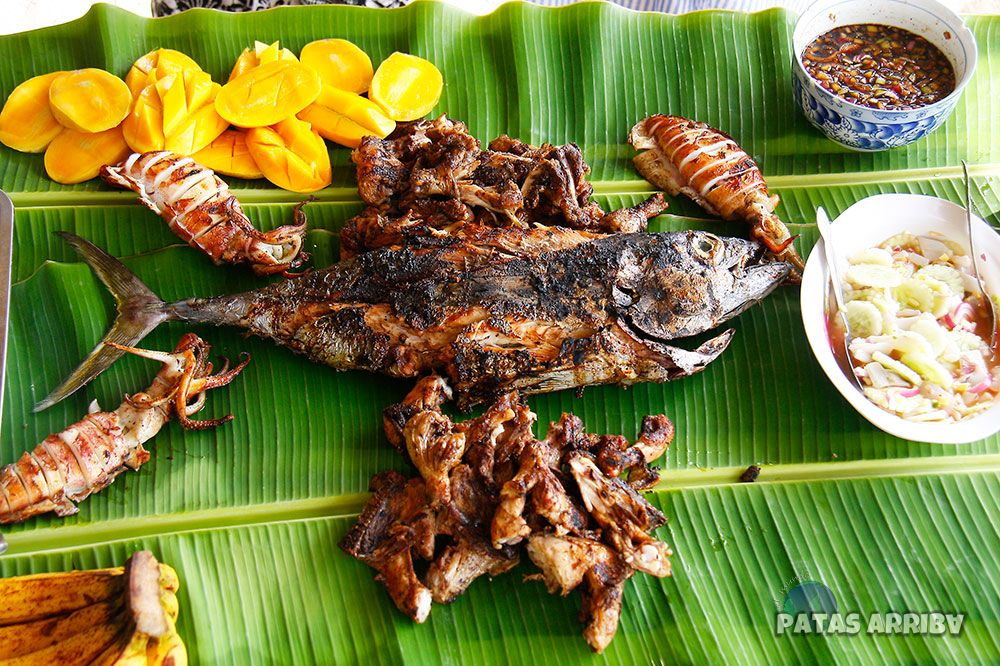 Comida en Siargao Filipinas